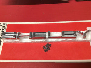1968-1970 Shelby Hood Pin Letter Set