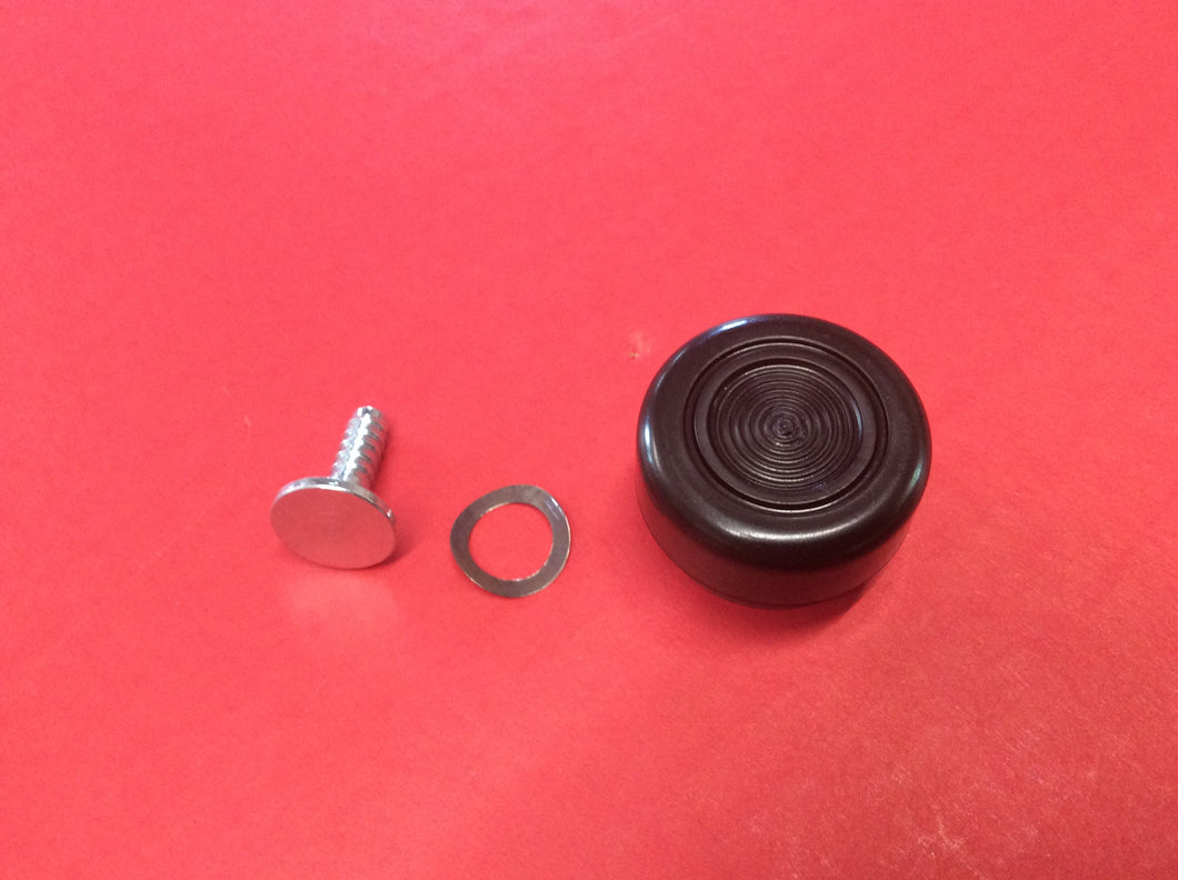 1968-1973 Mustang Black Knobs for Window Cranks Each.