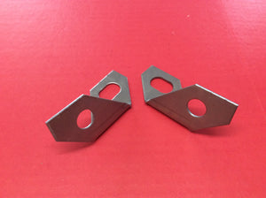 1967-1968 Mustang Bumper End Brackets Pair