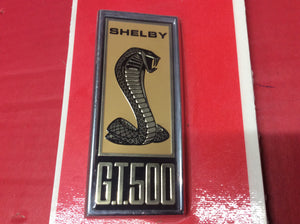 1967 Shelby GT500 Front Fender Emblem Fits Right or Left