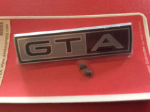 Load image into Gallery viewer, 1967 Mustang GTA Front Fender Emblem fits RH or LH