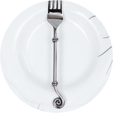 Double Snail - Cutlery Design - Stainless Steel - Made from repurposed metal - goodfolks.shop
