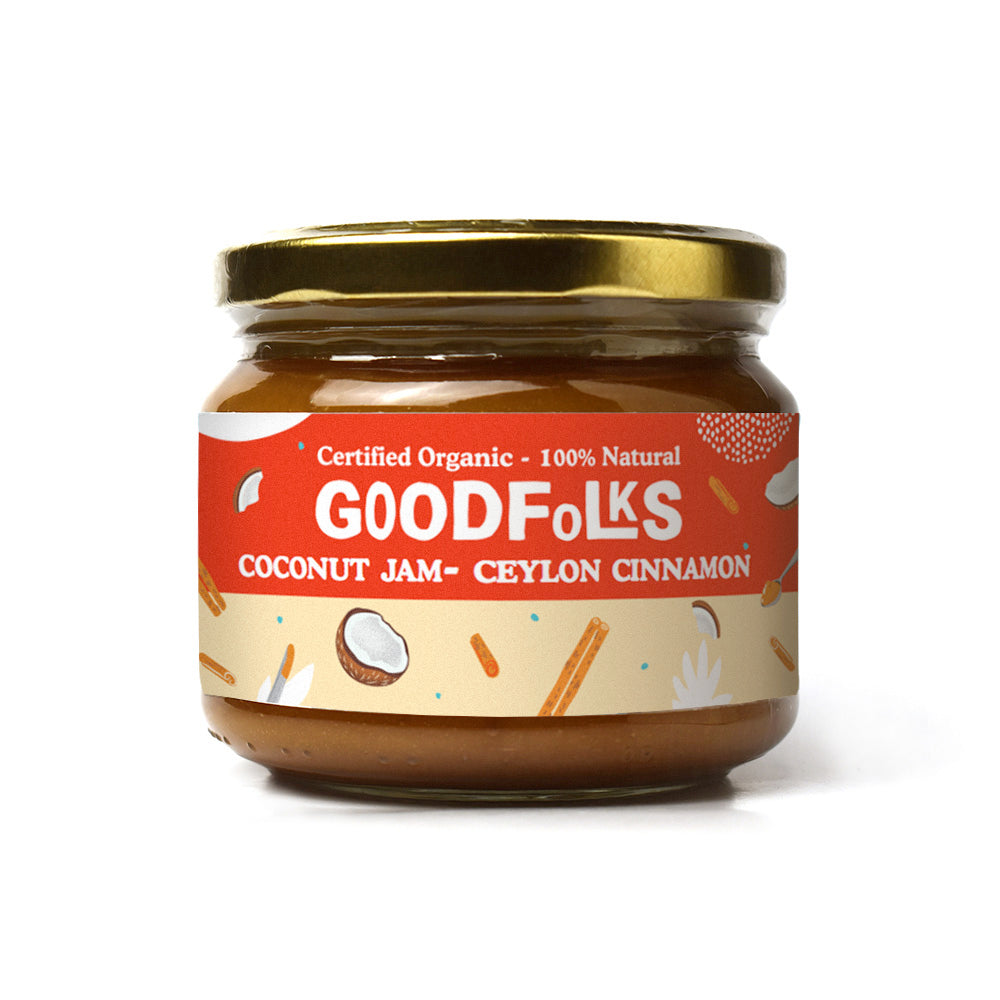 Coconut Jam with Cinnamon - Certified Organic