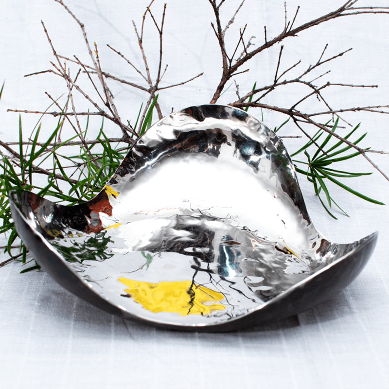 Petal Bowl – Stainless Steel - Tri-circular - goodfolks.shop