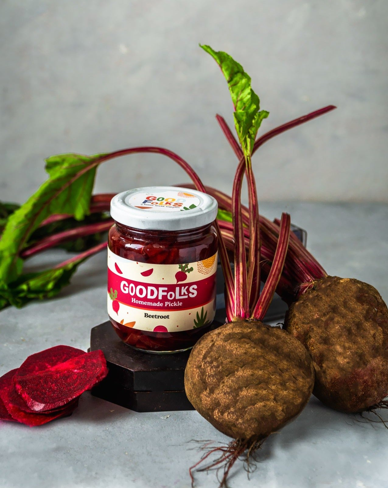 Homemade All Natural Pickle <br> Beetroot
