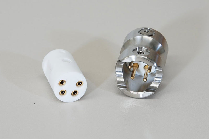 Custom 4-Pole In-line Connector by Globetech