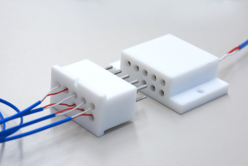 Custom Thermocouple Relay Connector by Globetech