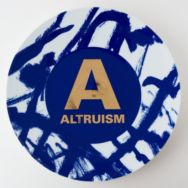 Altruistic Alphabet Porcelain Collection