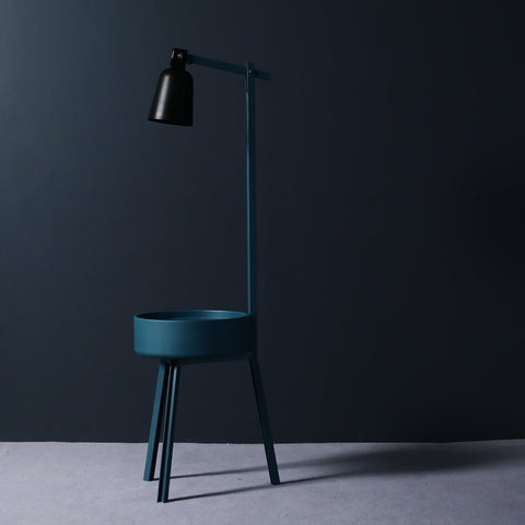 Karl Side Table and Lamp
