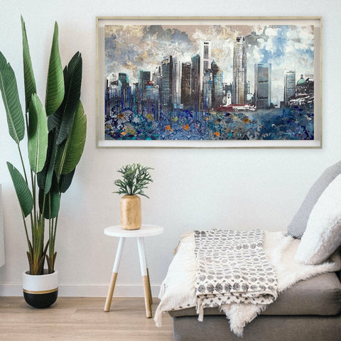 River City Canvas Limited Edition Print