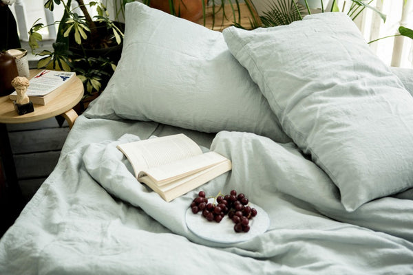 French Linen Bedding Set