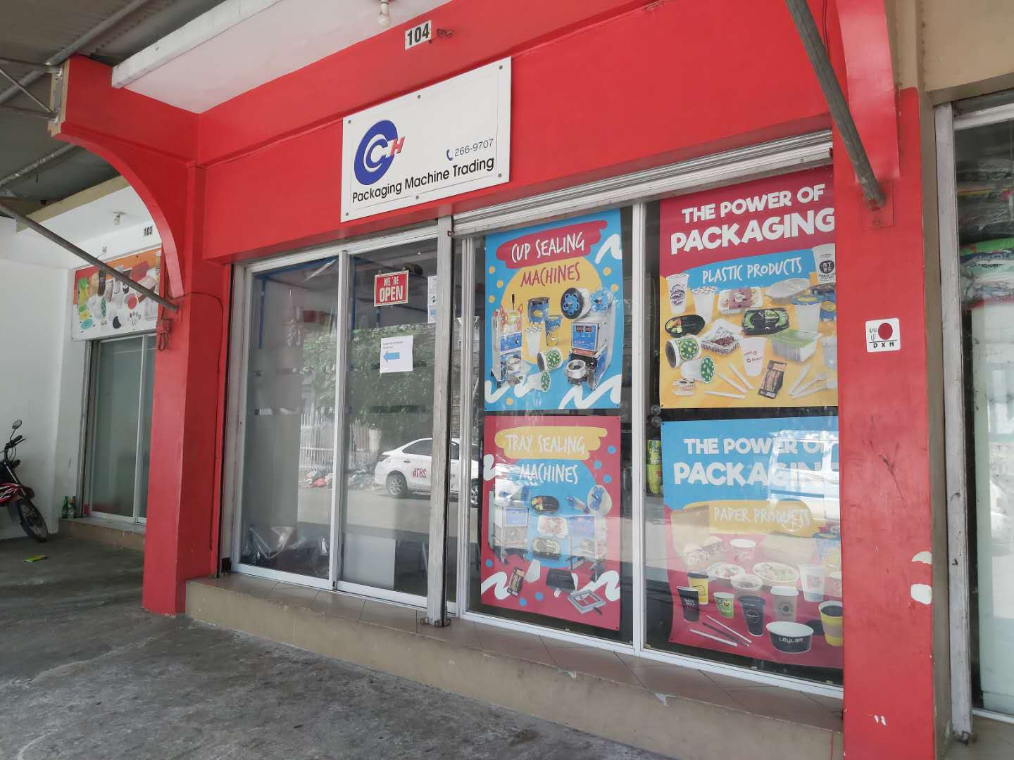 cch packaging front store