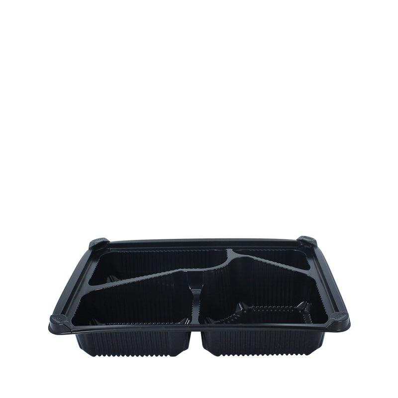 Bento Tray 4 Compartment with Lid 25pcs/pack (₱11.75/set) - CCH Packaging Machine Trading