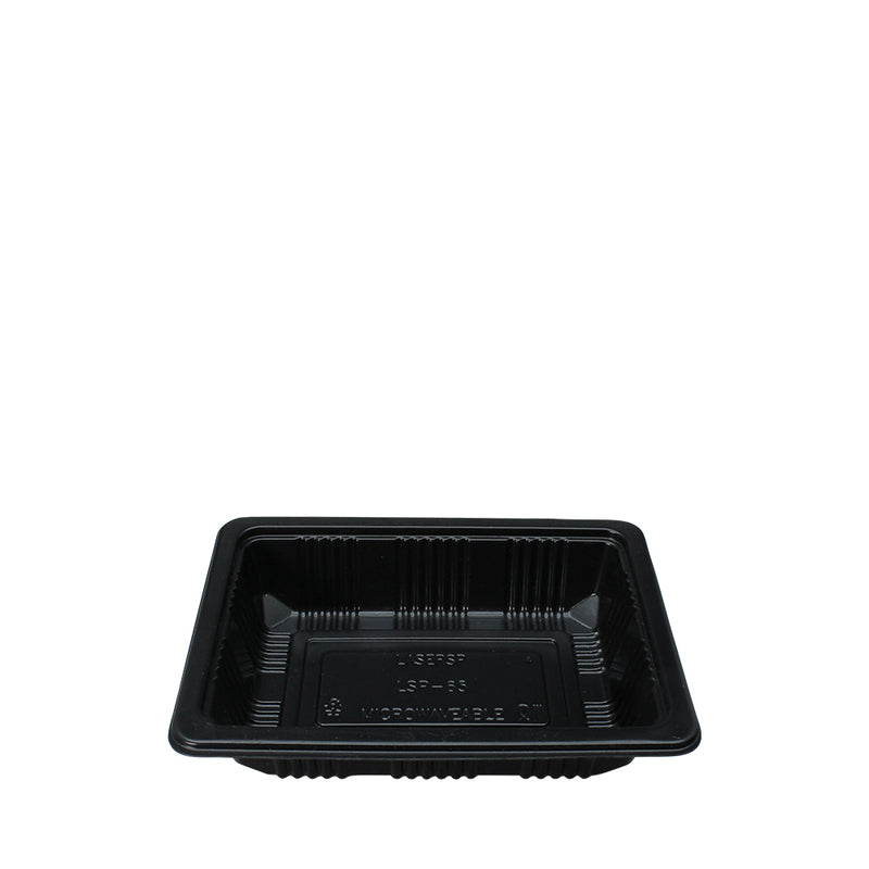 500pcs Plastic Microwavable Food Tray LSP-65 - (₱6.50/piece) - CCH Packaging Machine Trading