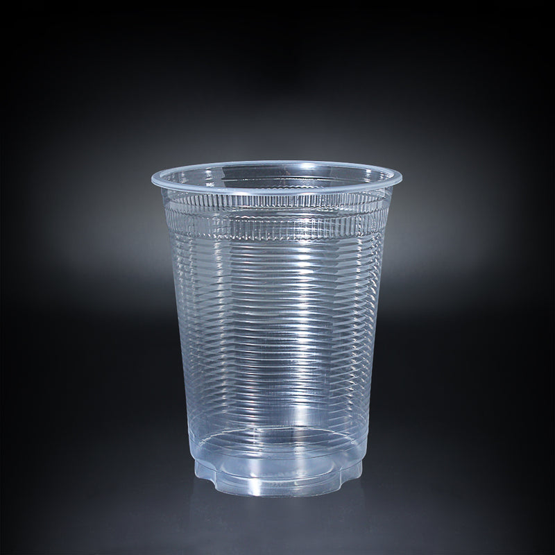 50pcs Plastic Cup Ribbed Wall with lid 32oz 116mm Diameter - (₱5.70/set) - CCH Packaging Machine Trading