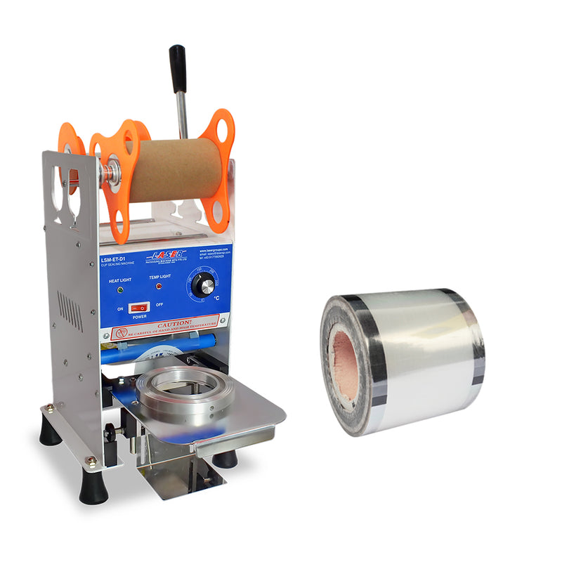 Bundle A (Cup Sealer + Plain Sealing Film) - CCH Packaging Machine Trading