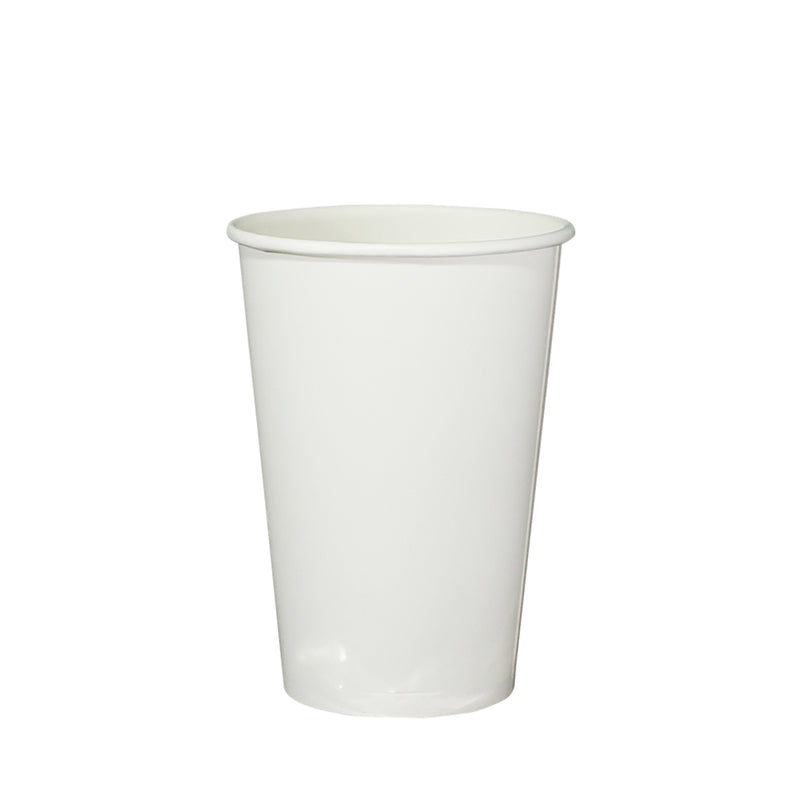 Single Wall White Paper Cup 22oz/700ml 95mm Diameter - (₱4.25/piece) - CCH Packaging Machine Trading