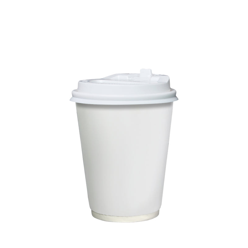Double Wall White Paper Cup 12oz 90mm Diameter - (₱6.90/set) - CCH Packaging Machine Trading