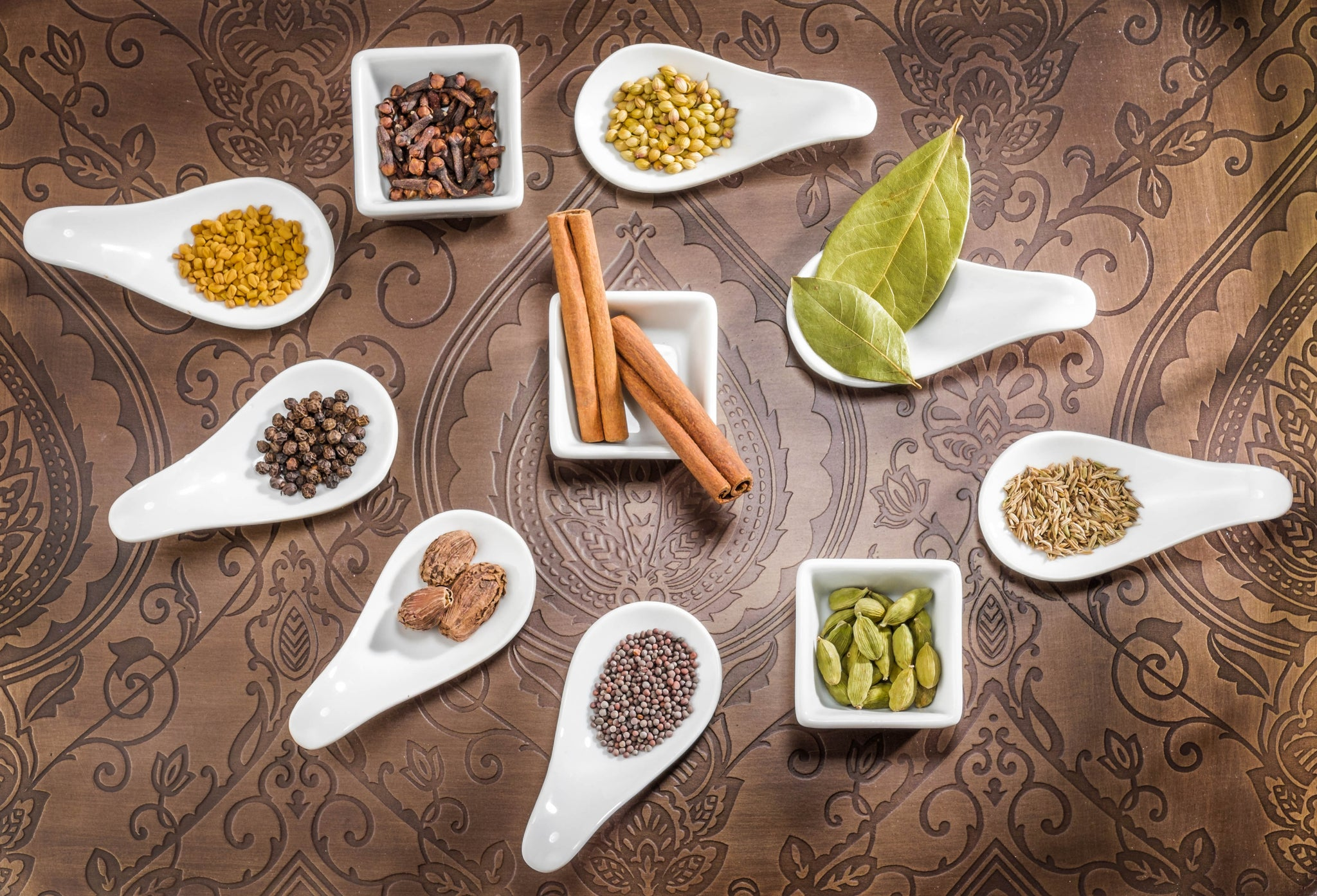 Indian spices and seasonings