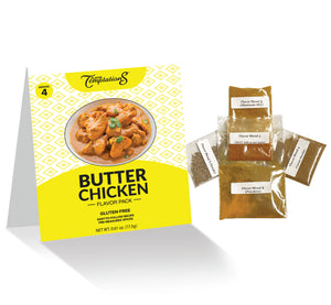 Butter Chicken Flavor Pack  (8 servings)