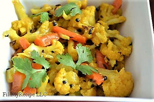 Cauliflower Curry Flavor Pack  (4 servings)