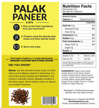 Load image into Gallery viewer, Palak Paneer Spices (4-8 servings)