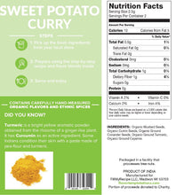 Load image into Gallery viewer, Sweet Potato Curry Spices (4-8 servings)
