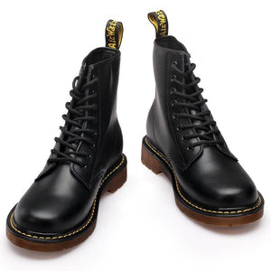 DOC Martens Boots Couple Leather Motorcycle Martin Ankle Boots