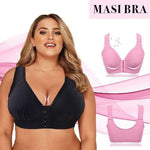 Load image into Gallery viewer, Plus Size Front Closure Elastic Push Up Comfort Bra