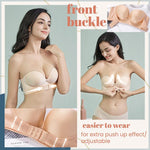 Load image into Gallery viewer, Strapless Front Buckle Lift Bra