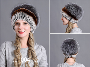 2020 Deluxe Winter Women  Knitted Hats