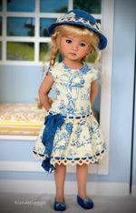 Load image into Gallery viewer, 👧👧Little Darling Dianna Effner Doll With Dress#28