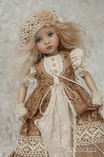 Load image into Gallery viewer, 👧👧Little Darling Dianna Effner Doll With Dress#8