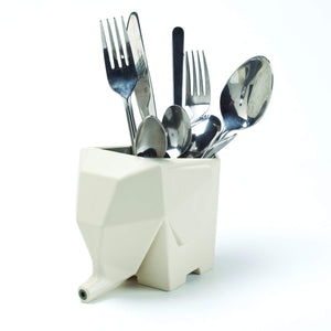 Elephant Sink Cutlery Organizer Drainer Storage Box and Toothbrush Holder