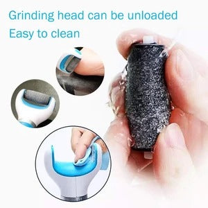 Electric Foot Scrubber for Cracked Heels and Dead Skin(THE BEST GIFT)