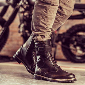 Waterproof Ankle Protection Motorcycle Boots