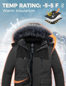Men's Winter Thickened Warm Snow Outerwear