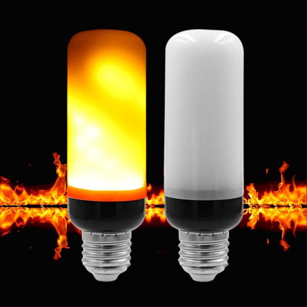 Flickering Candle Light Bulb - Candle Bulb Halloween Decoration