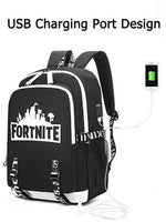 Load image into Gallery viewer, Luminous Backpack USB Charging Teenager School Bag(Buy two free shipping)