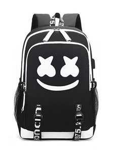 Luminous Backpack USB Charging Teenager School Bag(Buy two free shipping)