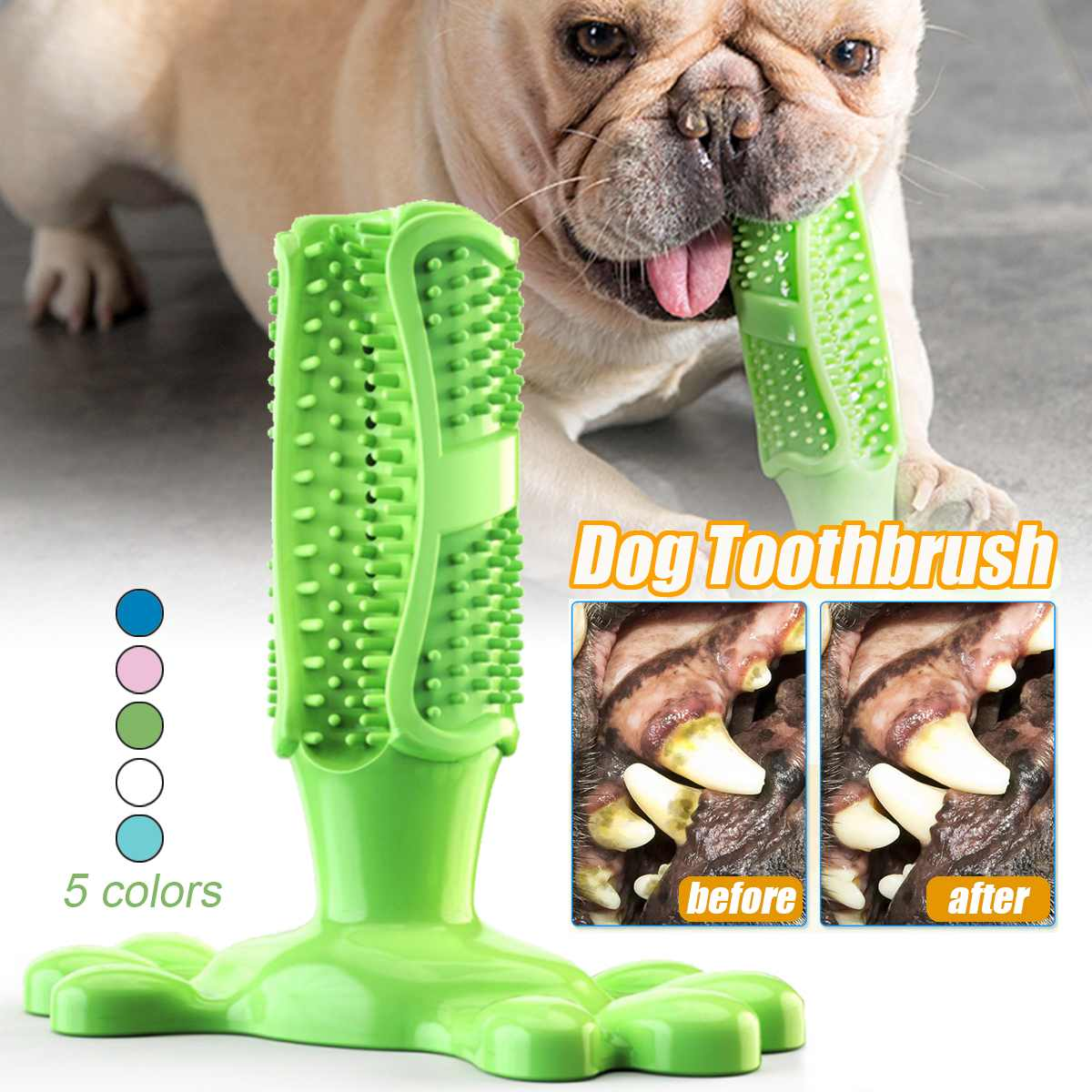 Dog Tooth-Brush (FDA Approved)