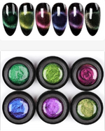 Load image into Gallery viewer, 9D Cateye gel polish(GET 6 COLORS FREE SHIPPING )