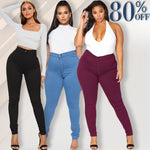 Load image into Gallery viewer, Luxe Stretch High Waist Tummy Booty Slimming Butt Lift Plus-Size Denim Jeans