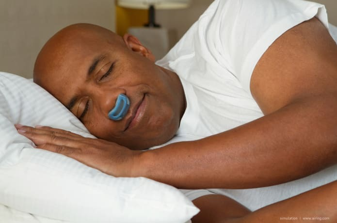 Airway - the first hoseless, maskless, micro-CPAP