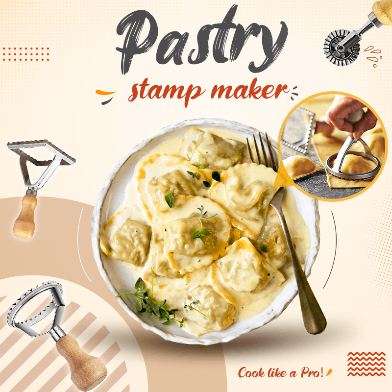 Pastry Stamp Maker Set