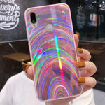 Load image into Gallery viewer, Pixi Holographic Phone Case - Huawei