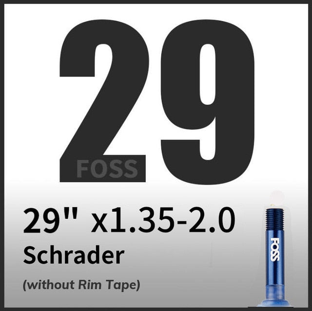 FOSS Bike Tube Tire Schrader