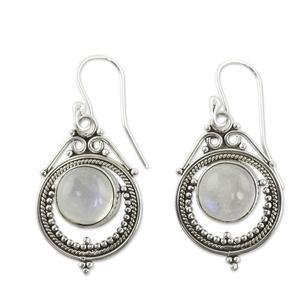Timeless Beauty Moonstone earrings