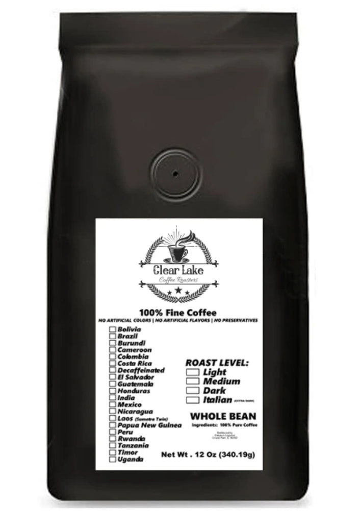 Chocolate and Spice Guatemala Finca Nuevo Vinas 16 oz whole bean medium coffee By Clear Lake Coffee Roasters