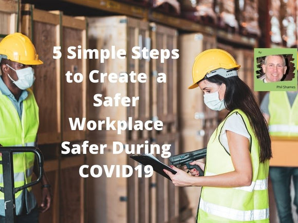 Working safely in a warehouse with air purifiers from Cleanworld.ca
